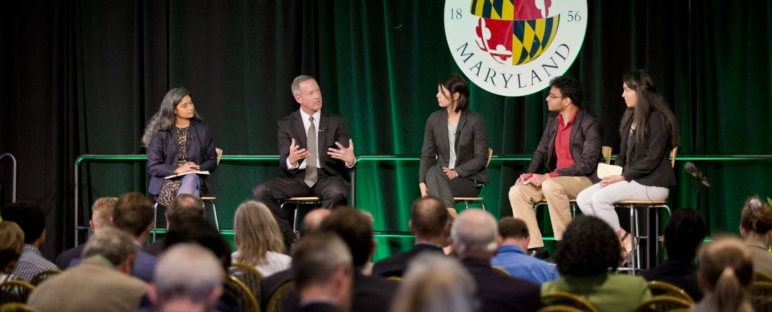 Panel discussion at Climate Action Forum 2016 with Governor O'Malley