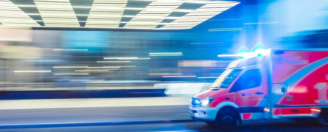 Ambulance Blur. Photo by Camilo Jimenez, Unsplash